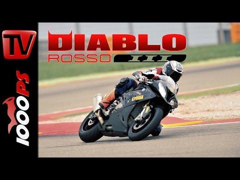 Pirelli Diablo Rosso III Test 2016 - Rennstrecke und Strasse