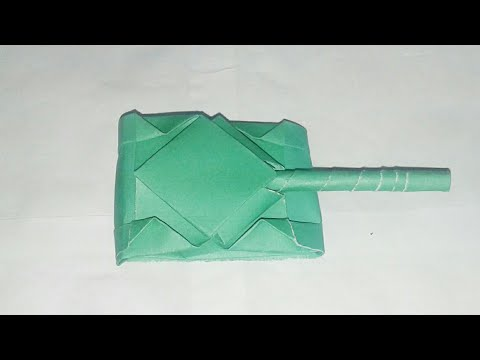 How to make a paper tank | Millitery Tank | Easy paper carft | Tafsirul Touch