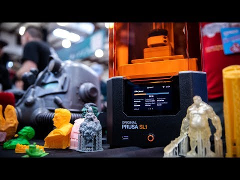 First Look: Prusa SL1 Resin 3D Printer!