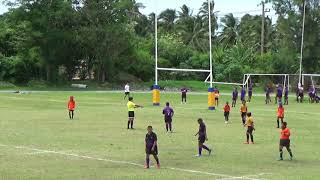 King's College Rugby Seven 2018 Second Round U12 House 1 vs House 3