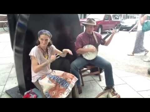 Turned Earth busking