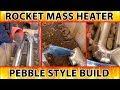 """steam punk rocket mass heater of science - excerpt from """"Better Wood Heat"""" DVDs"""