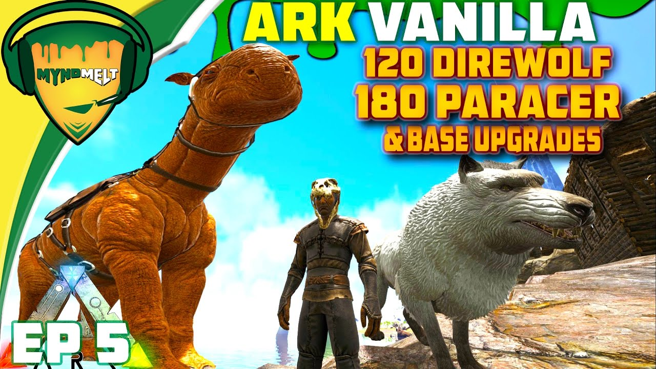 Max level paracer 120 direwolf tame base upgrades iron mine max level paracer 120 direwolf tame base upgrades iron mine on ge ep 5 ark survival evolved malvernweather Image collections