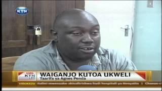 Polisi bandia Waiganjo apanga kutoa ukweli
