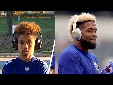 Kids Hilariously Dress as Odell Beckham Jr. For Halloween