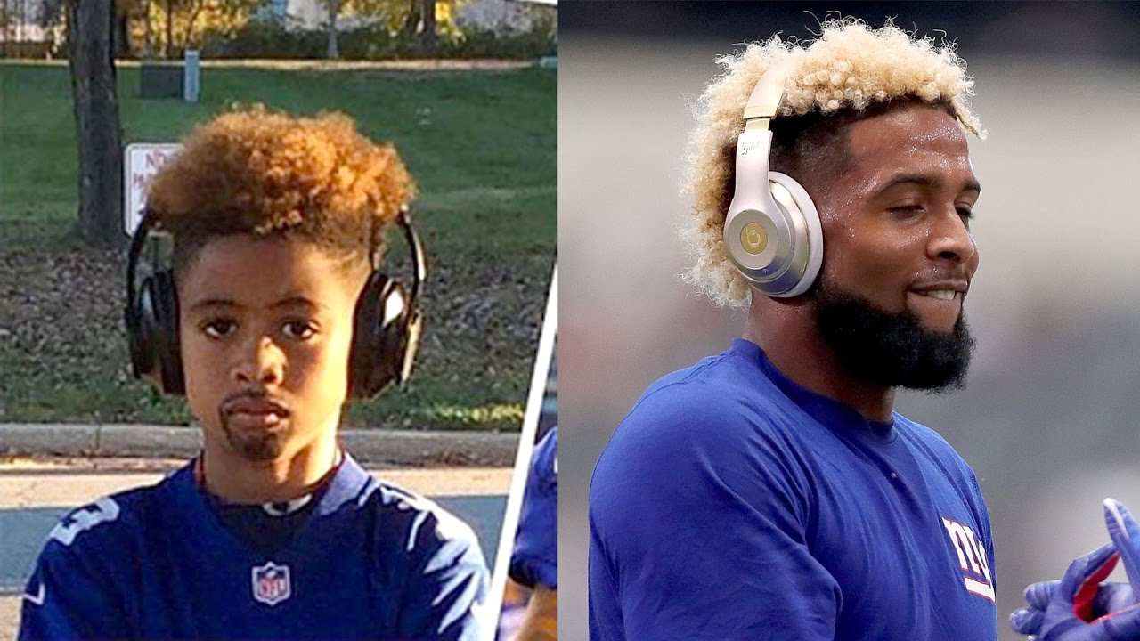 buy popular eb33a bd341 Kids Hilariously Dress as Odell Beckham Jr. For Halloween