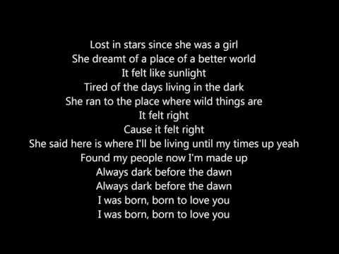 OneRepublic - Born (lyrics)
