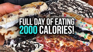 2000 Calorie Full Day of Eating