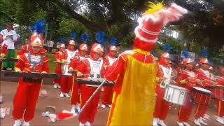 Download lagu Ya Lal Wathon, Banser NU ft  Drumband Pp Nurul Mushtofa Ciracas at Tugu Proklamasi Hari Santri 2017