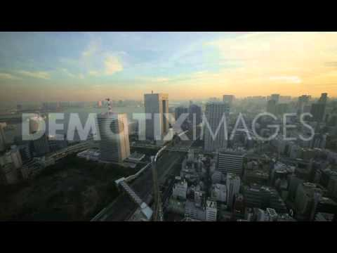 Views from the World Trade Center Tower in Tokyo - Japan