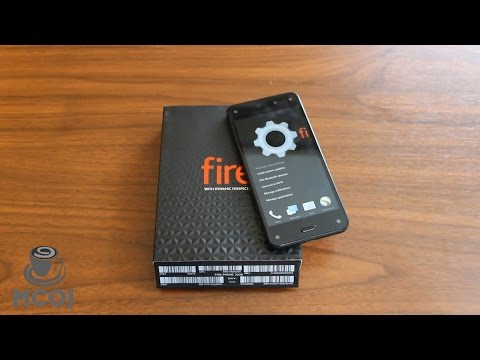 Unboxing Amazon's First Smartphone: The Fire Phone