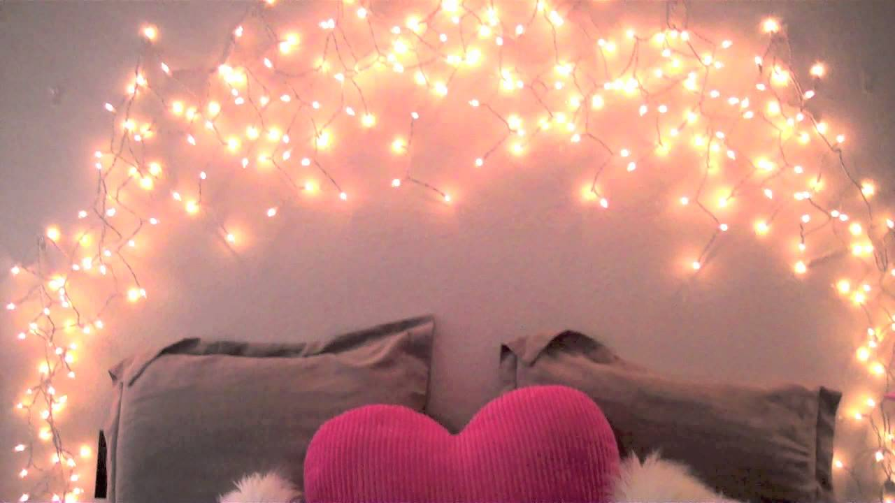 Diy glowing headboard youtube for How to light up a room