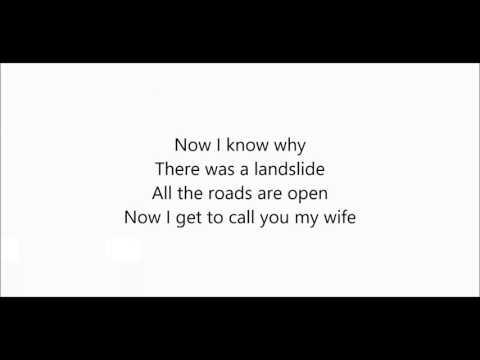 Ronan Keating - Landslide (Lyrics)