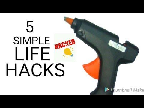 5 simple life hacks