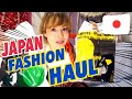 JAPANESE FASHION TRY-ON HAUL at Harajuku Grand Bazar in Tokyo