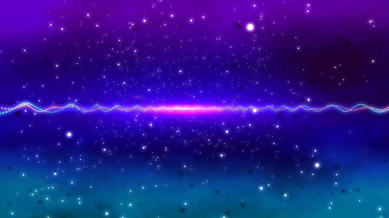 4k Neon Purple Space Stars Moving Background Aavfx Live Wallpaper