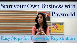 Payworld पर रजिस्टर करें सिर्फ 2 मिनट में!!
