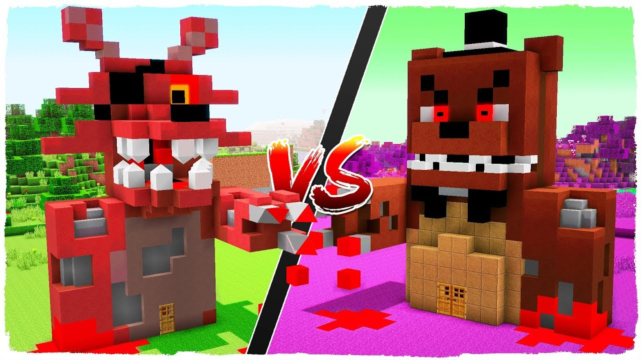 minecraft foxy pictures