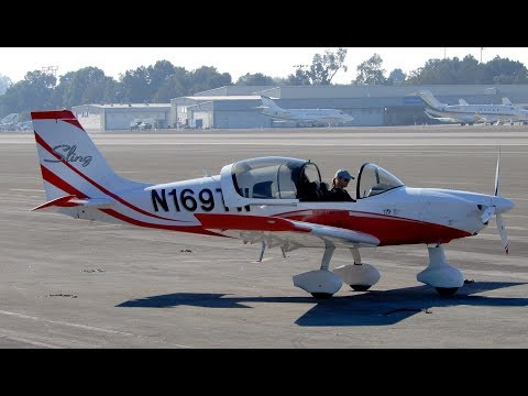 Santa Monica Airport Propeller Airplane Spotting (KSMO) California