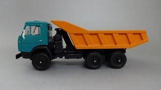 1978 КамАЗ-5511 самоскид | Елекон-АРЕК | Огляд радянської масштабної моделі 1:43