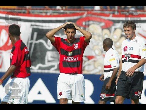 Flamengo 1 x 6 São Paulo - Campeonato Brasileiro 2005 ...