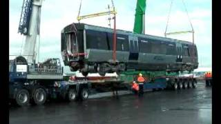New Trains Arriving in Northern Ireland