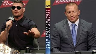 UFC 217: Bisping vs St-Pierre - Las Vegas Press Conference Highlights