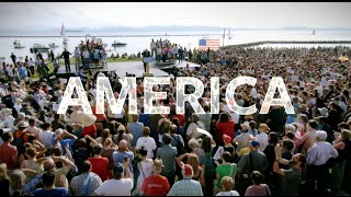 """They've all come to look for America..."" --------- ☆ Join the poli..."