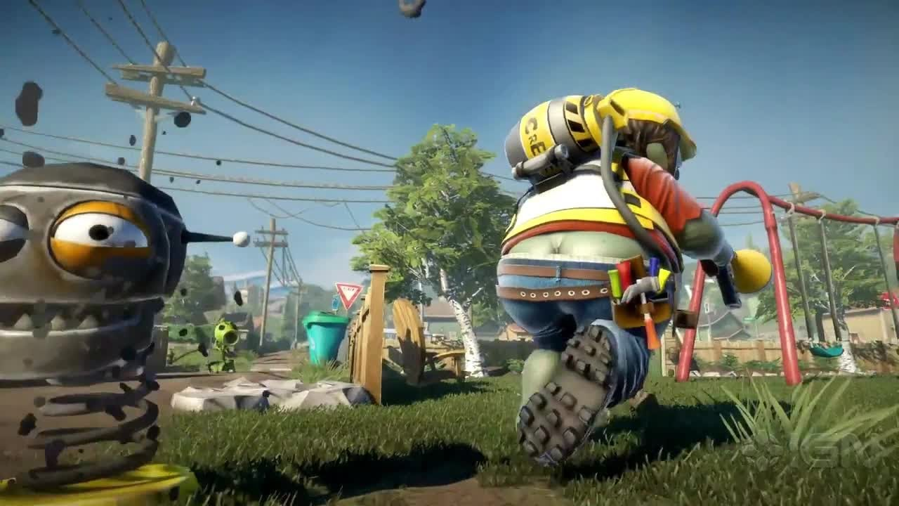Plants vs Zombies: Garden Warfare Trailer- E3 2013