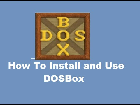 How To Install and Use DOSBox (To Run DOS Programs on