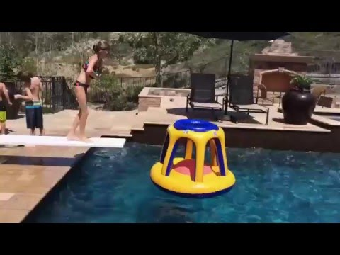 Funny Videos Swimming Pool Diving Board Tricks Youtube