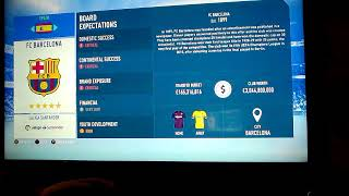 Fifa 19 career man City we win the community shield who to sign