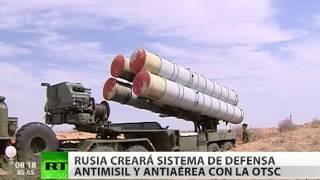 Rusia creará un sistema de defensa antimisiles y antiaéreo con la OTSC
