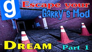 [LUŹNE GRANIE] Garry's mod (Z kumplami) #128 - Horror Map: Escape your dream! (1/2) [W: Marcin007]