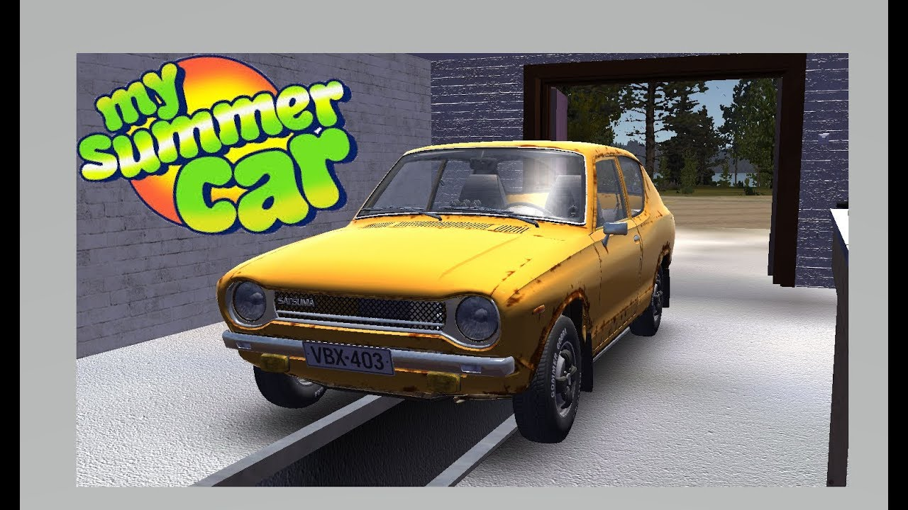 My Summer Car Save Game 23102018 Stock Satsuma