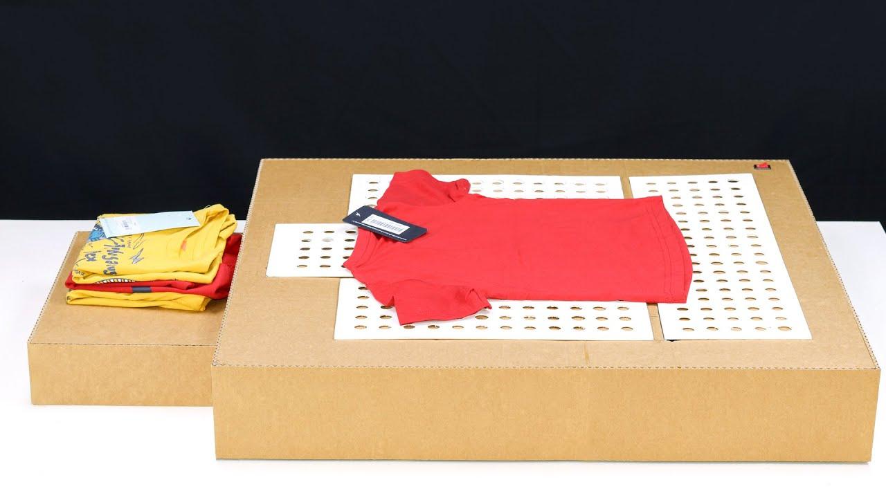 How To Make T-Shirt Folding Machine From Cardboard! DIY Folding Machine