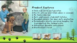 Dog Carriers-midwest Life Stages Single-door Folding Metal Dog Crate Review