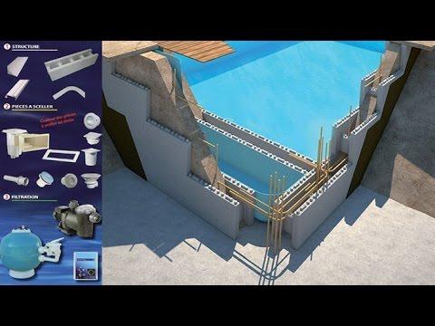 piscines en kit polysytyr ne youtube. Black Bedroom Furniture Sets. Home Design Ideas