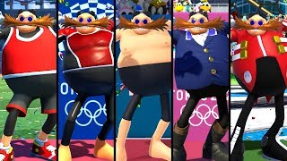 Mario & Sonic at the Olympic Games Tokyo 2020 - All Eggman Outfits