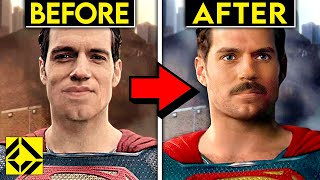 We put Superman's MUSTACHE back into Justice League