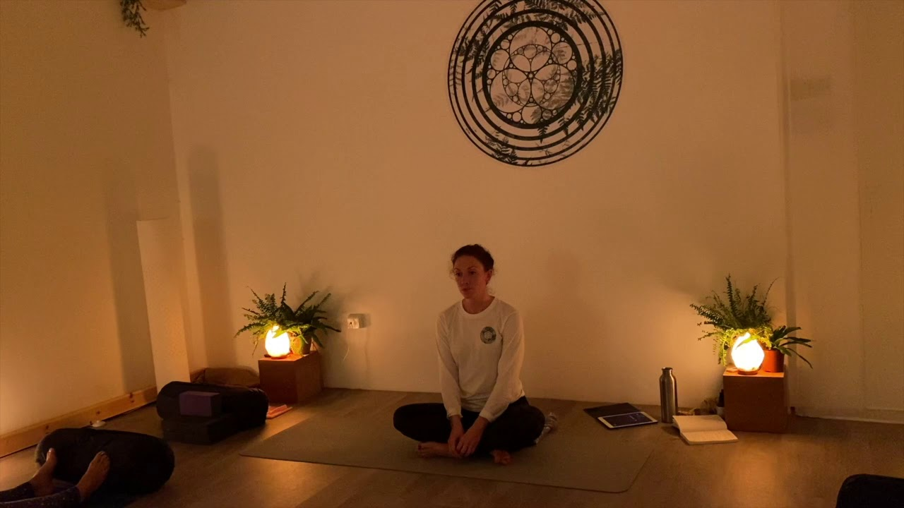 YIN YOGA  Be still my busy thoughts