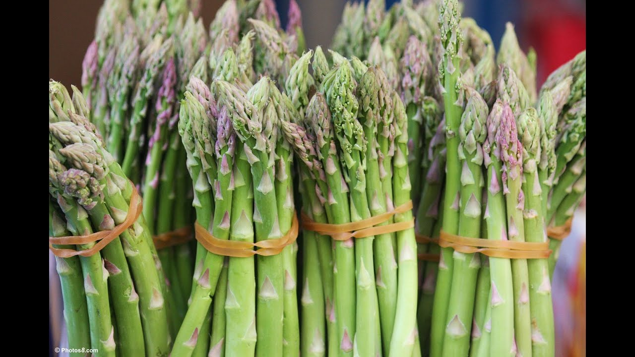 how to get grit out of asparagus
