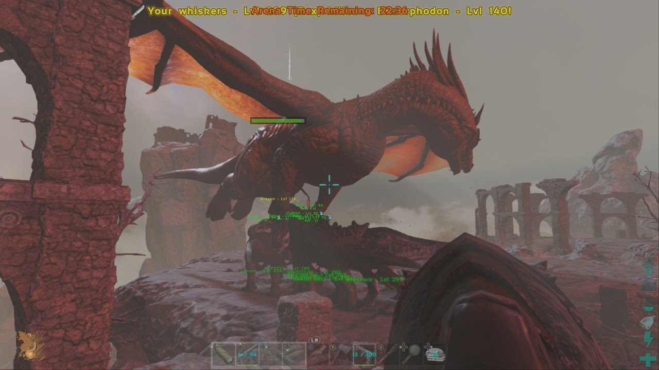 Ark Best Way To Fight The Dragon On Any Difficulty Boss -7296