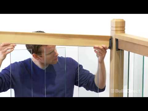 How to Install Clearview Deck Railing | BuildDirect