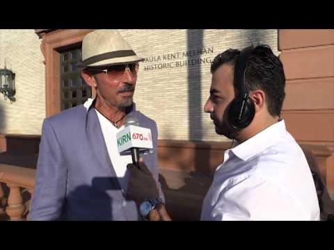 Interview with Shaun Toub in Farsi