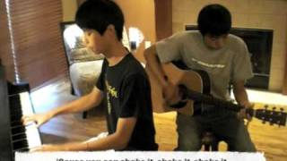 Hot Mess/Burnin' Up Cover- Cobra Starship/Jonas Brothers (Piano/Guitar/Lyrics/Instrumental)