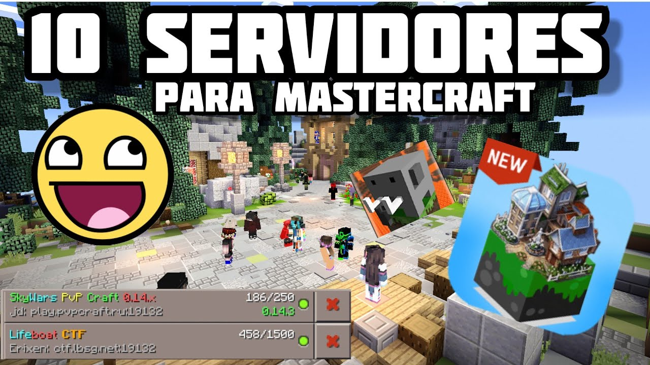 Mas De 10 Servidores para Mastercraft & Craftman | Mastercraft Servidores
