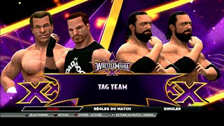 W2K15 PS3 - My WM 30 - The New Age Outlaw vs The Miz & Mizdow