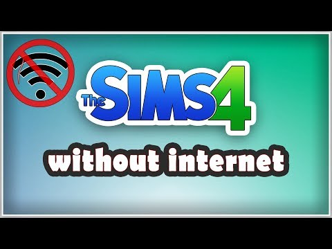 how to play sims free play without internet connection