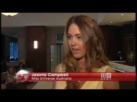 Jesinta Campbell - Miss Australia's National Costume 2010